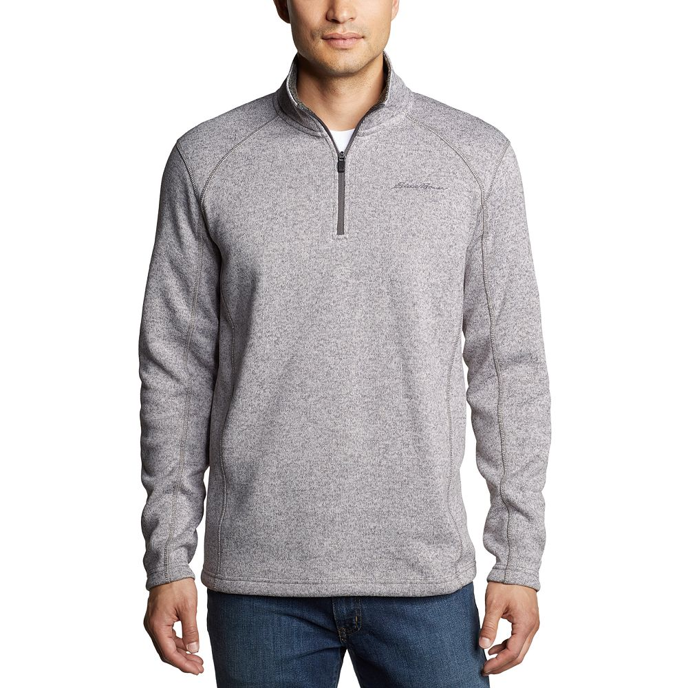 Men's Eddie Bauer Radiator Fleece Quarter-Zip Pullover