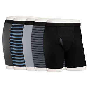 Men's Fruit of the Loom Signature 5-pack Cool Zone Fly Boxer Briefs