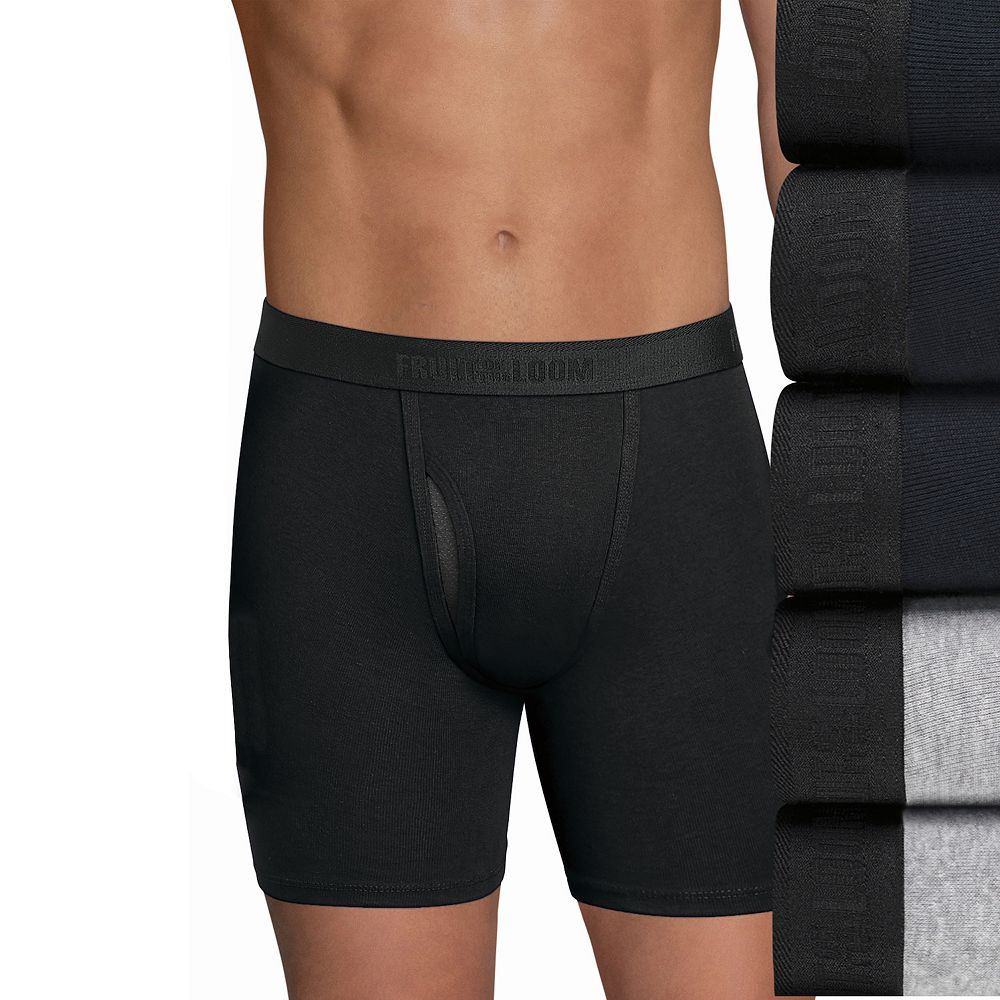 Men's Fruit of the Loom® Signature 5-pack Cool Zone Fly Boxer Briefs