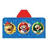 Nintendo Super Mario Jump & Go Hooded Towel Wrap