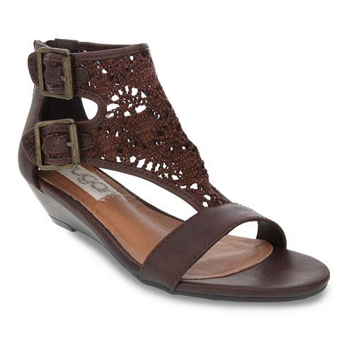 sugar Wigout Demi Women's Wedge Sandals