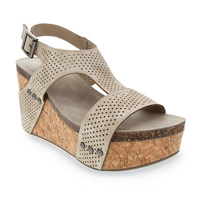 sugar Junebug Women's Strappy Wedge Sandals