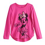 Disney's Minnie Mouse Girls 4-12 Raglan Graphic Tee by Jumping Beans®