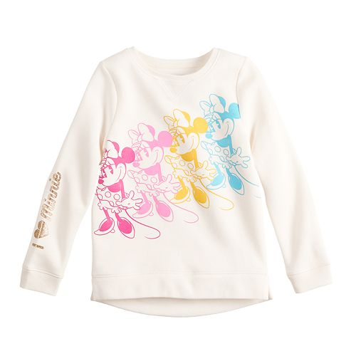 Disney's Minnie Mouse Girls 4-12 Graphic Softest Fleece Sweatshirt by Jumping Beans®