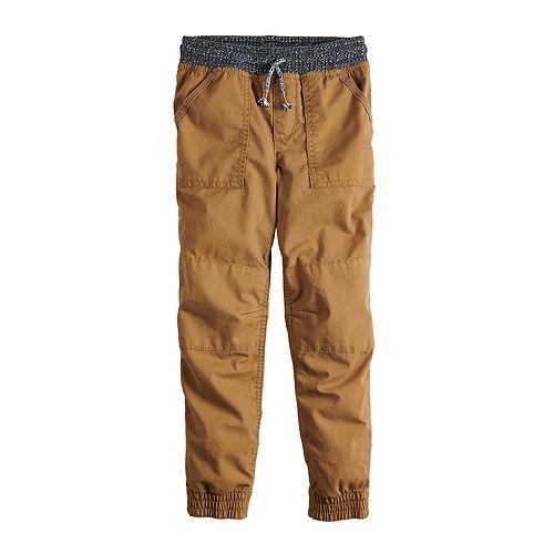 Boys 4-12 SONOMA Goods for Life® Pork Chop Pocket Jogger Pants