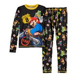 Boys 4-18 Cuddl Duds® Mario Kart Base Layer Set