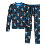 Boys 4-14 Cuddl Duds® Sonic the Hedgehog Base Layer Set
