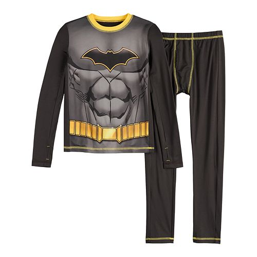Boys 4-14 Cuddl Duds® Batman Base Layer Set