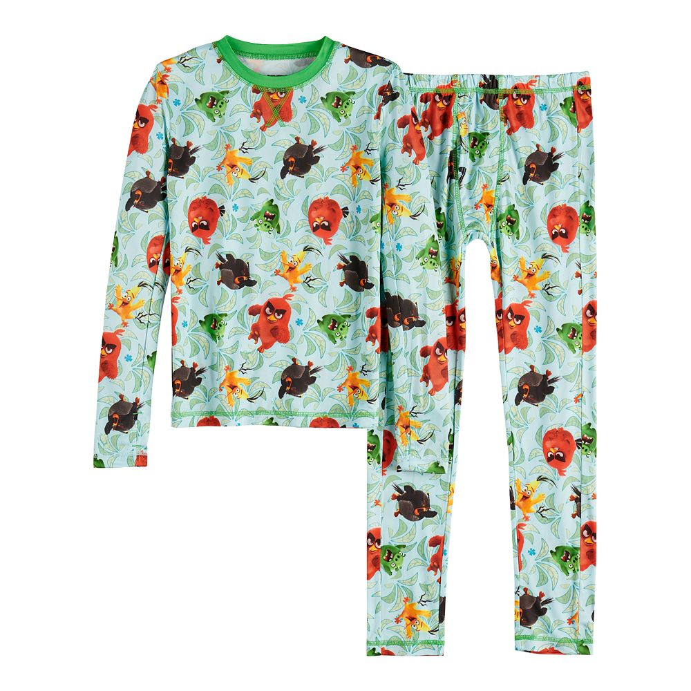 Boys 4-14 Cuddl Duds® Angry Birds Base Layer Set