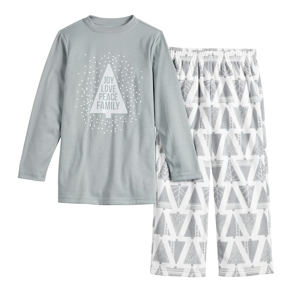 Boys 4-20 Jammies For Your Families® Joy Love Peace Family Tee & Pants Pajama Set