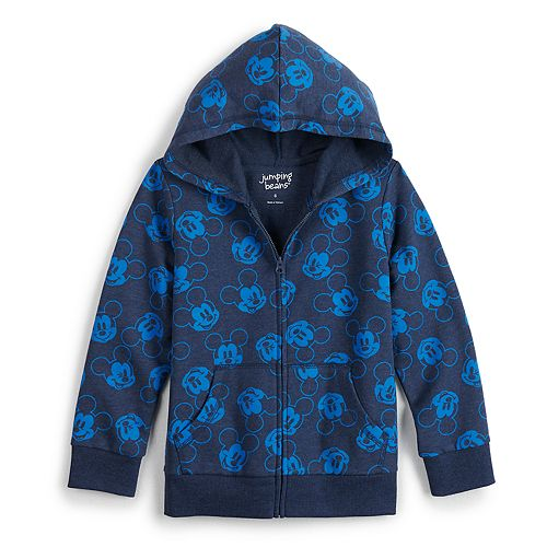 Boys 4-12 Disney's Mickey Mouse Full-Zip Jacket by Jumping Beans®
