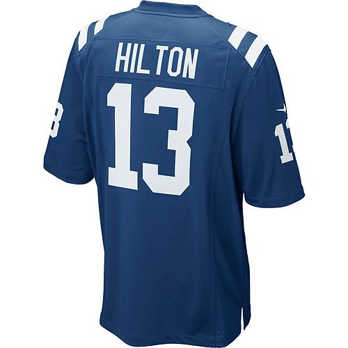 Men's Nike Indianapolis Colts T. Y. Hilton Game NFL Replica Jersey