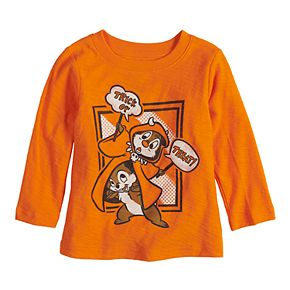 Baby Boy Jumping Beans Long-Sleeve Graphic Tee