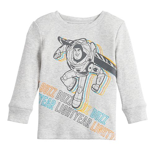 Boys' Toy Story Long Sleeve Thermal Crew Neck Tee