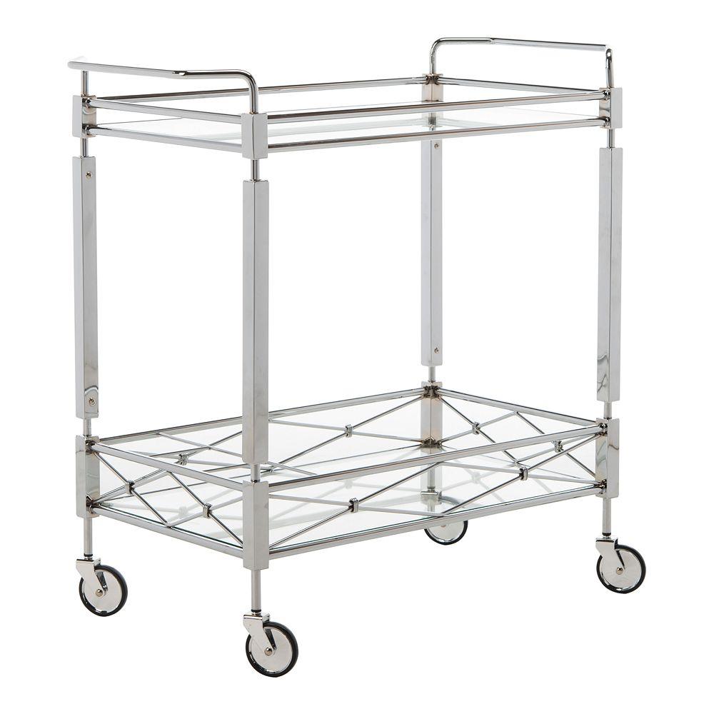 Safavieh Ingrid 2-Tier Rectangle Bar Cart