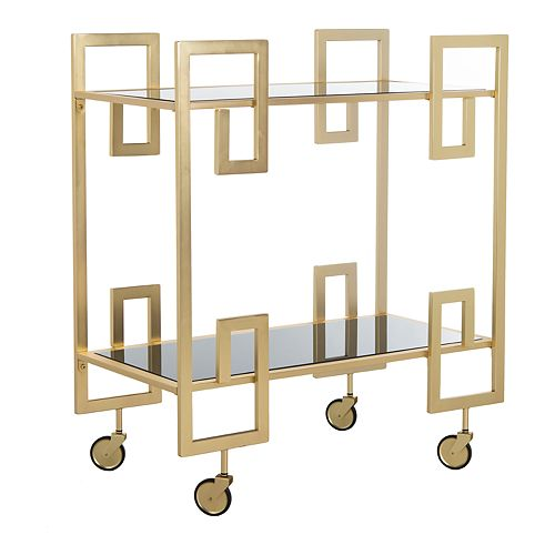 Safavieh Eliza 2-Tier Bar Cart