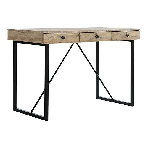 Safavieh Hilton 3-Drawer Desk