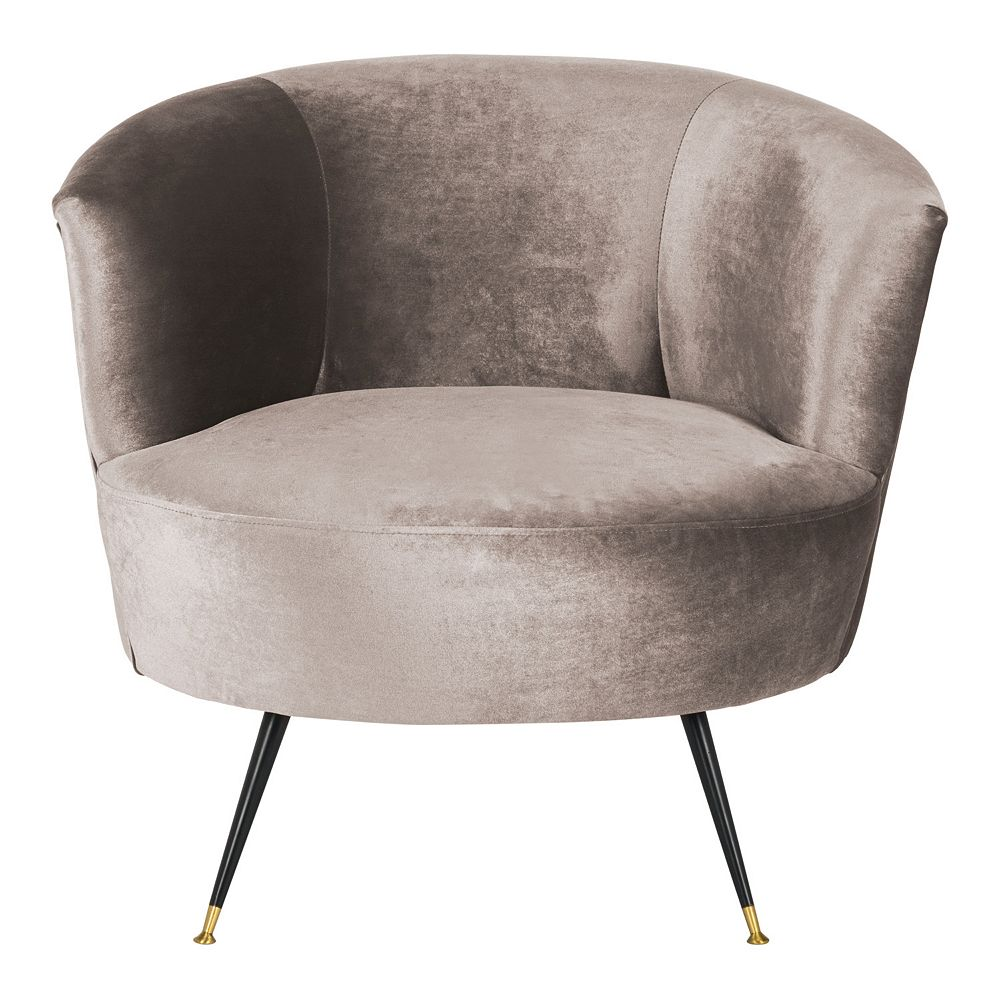 Safavieh Arlette Velvet Retro Mid-Century Accent Chair