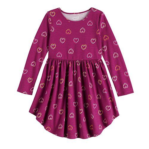 Girls 4-12 Jumping Beans® Skater Dress