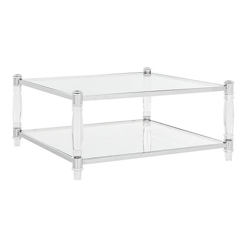 Safavieh Isabelle Acrylic Coffee Table