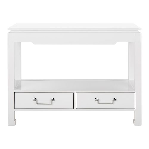 Safavieh Cdark Greyell 2-Drawer Lacquer Console Table