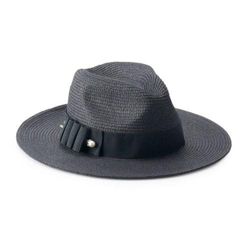 Women's Betmar Ellery Braid Fedora Pinch Crown Hat