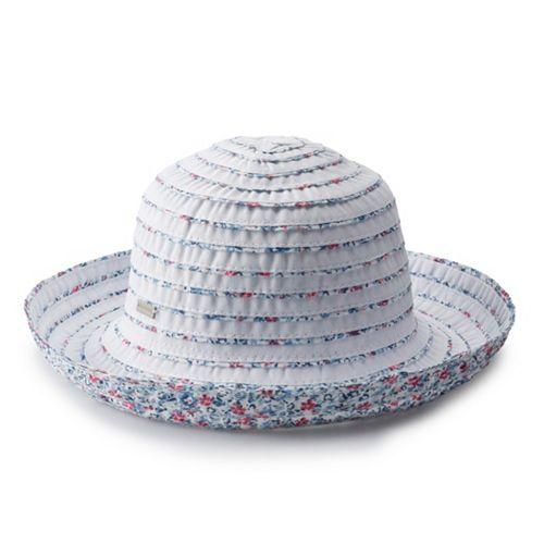 Women's Betmar Reversible Roll Up Sun Hat