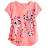 Disney's The Lion King Girls 4-12 Simba & Nala Graphic Tee by Jumping Beans®