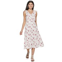 Juniors' American Rag Tie Shoulder Maxi Dress
