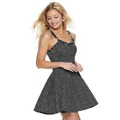840e339df14 Juniors  American Rag Ruffle Strap Dress