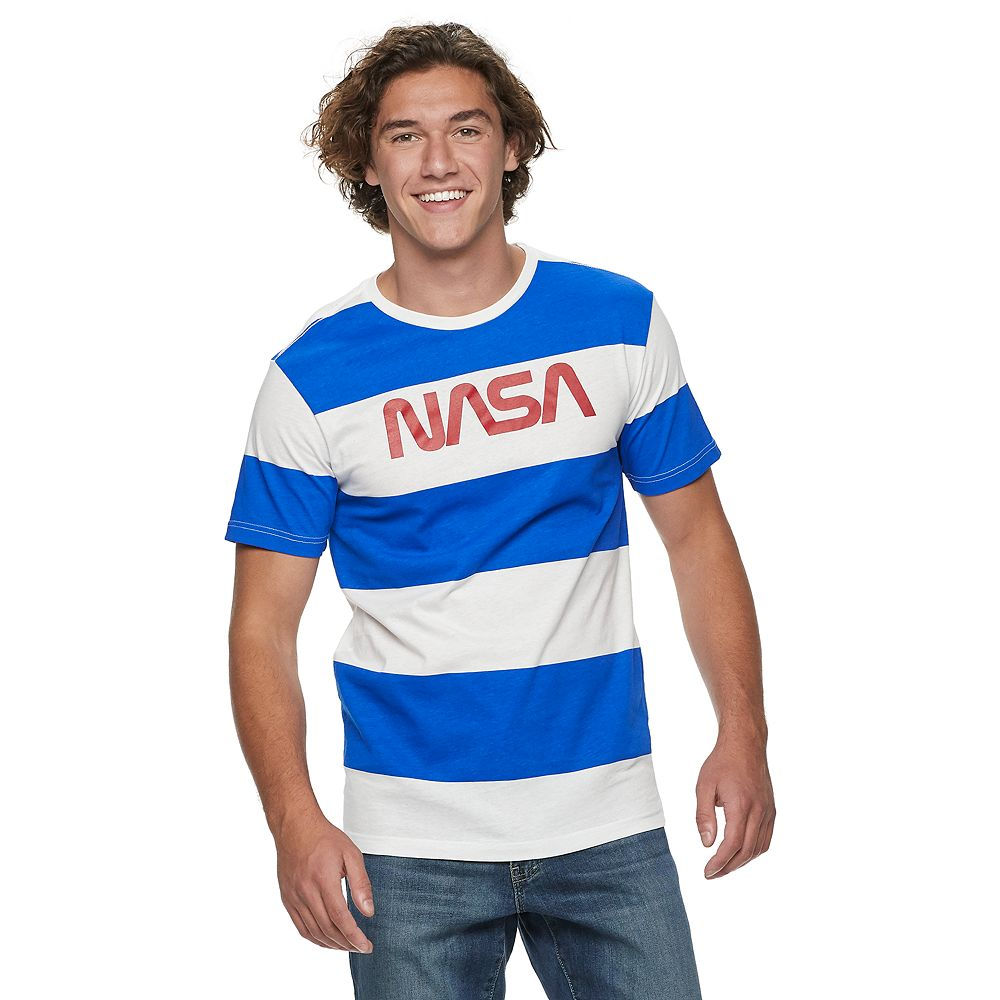 Men's NASA Striped Tee