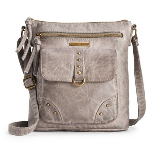 Stone & Co. Smokey Mountain Studded Crossbody Bag