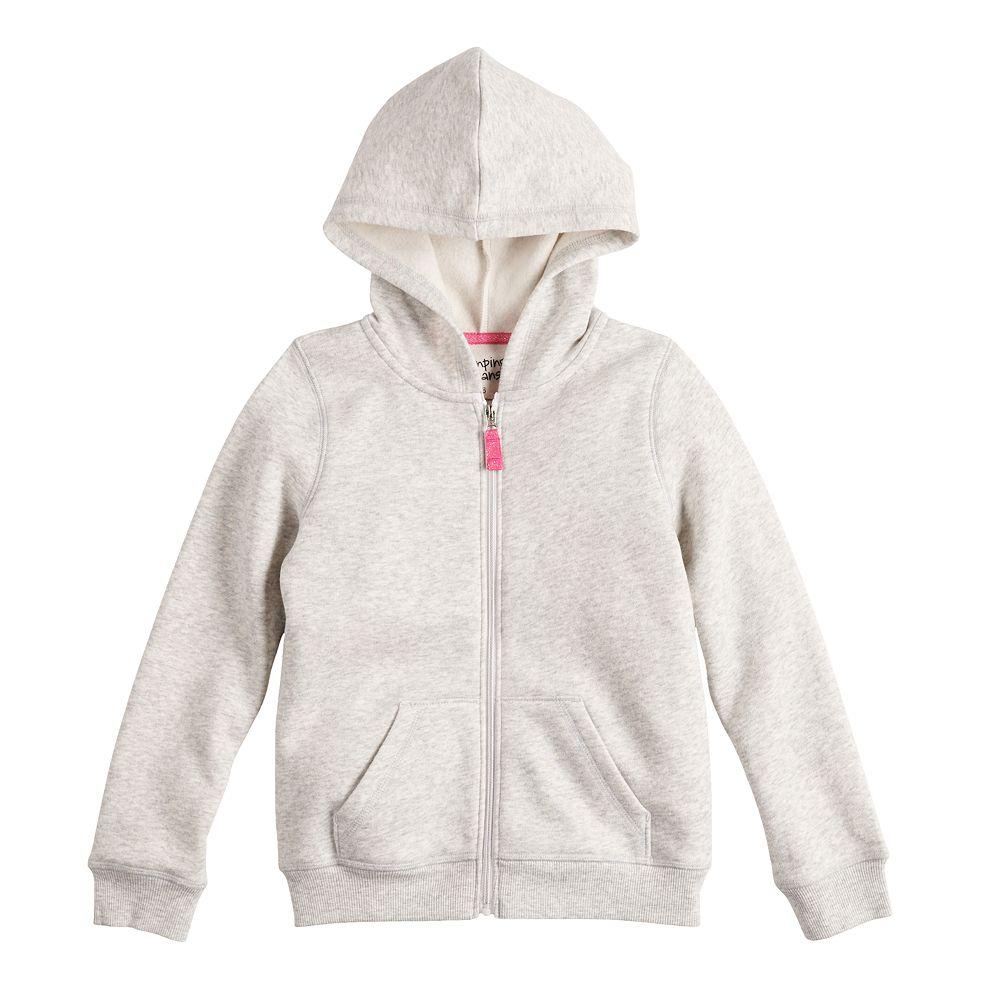 Girls 4-12 Jumping Beans® Softest Fleece Hoodie