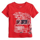 Baby Boy Jumping Beans® Fire Truck Graphic Tee