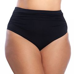 Women's Chaps Tummy Slimmer High-Waisted Bikini Bottoms