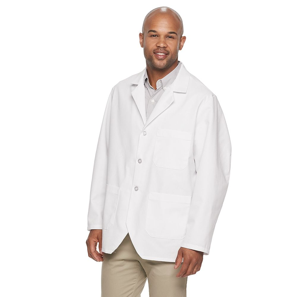 Men's Red Kap Notch-Collar Lapel Counter Coat