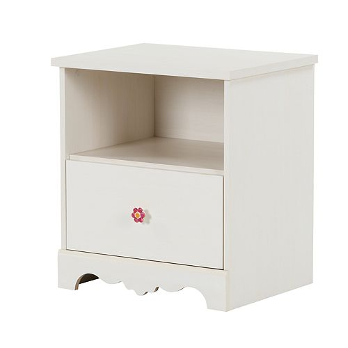 South Shore Lily Rose 1-Drawer Nightstand