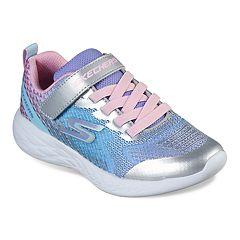 fcd9dae395f8 Skechers GOrun 600 Sparkle Runner Girls' Sneakers. Silver Multi Blue Multi