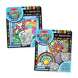 Melissa & Doug Stained Glass Easy Peel and Press Kit
