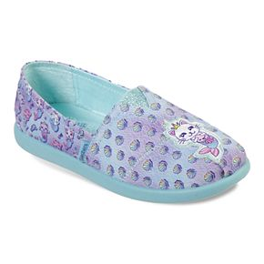 Skechers BOBS Solestice 2.0 Shell Friends Girls' Flats