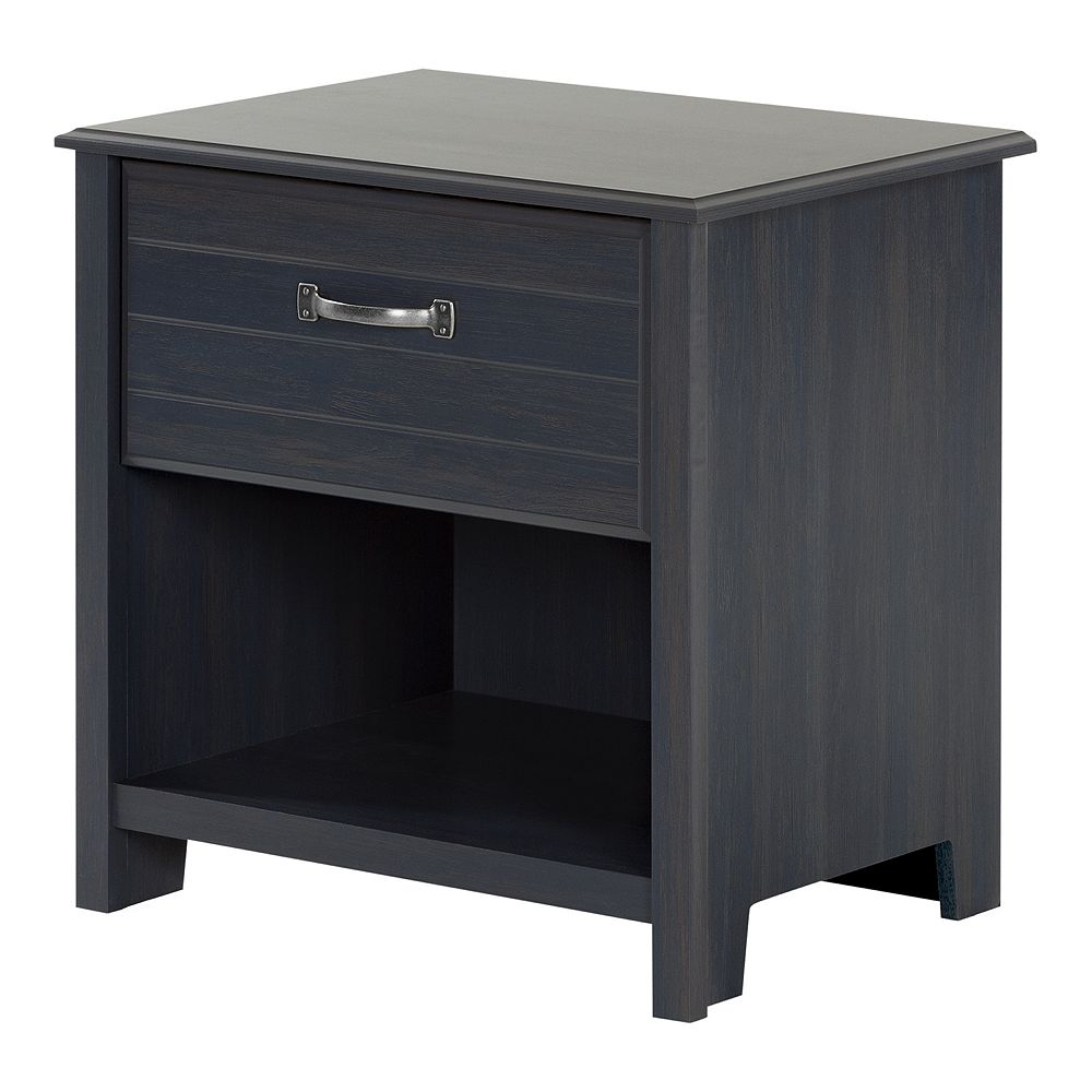 South Shore Ulysses 1-Drawer Nightstand