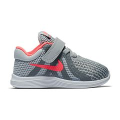 16f48908edbceb Nike Revolution 4 Toddler Girls  Sneakers. Black Pink Gray Pink
