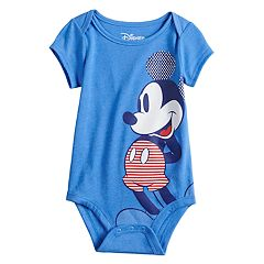 13ad252a0 Disney's Mickey Mouse Baby Boy Hiking Graphic Bodysuit by Family Fun