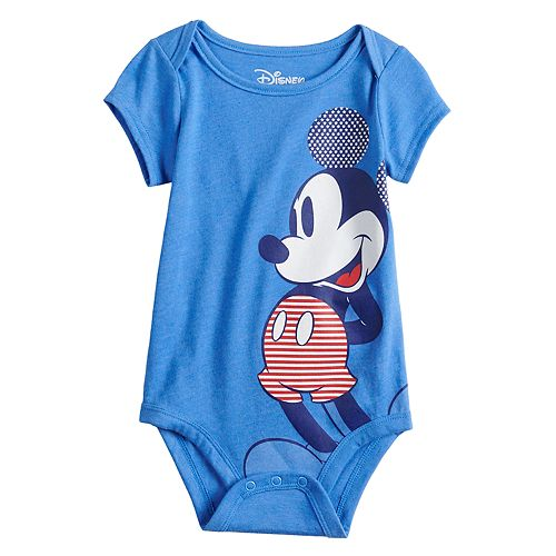 Disney's Mickey Mouse Baby Boy Hiking Graphic Bodysuit by Family Fun™