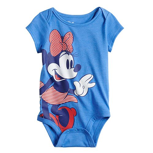 Disney's Mickey Mouse Baby Stars & Stripes Graphic Tee by Family Fun