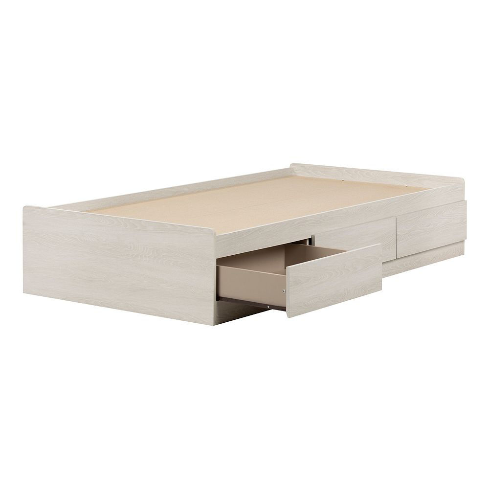 South Shore Fynn Mates Bed with Storage Drawers