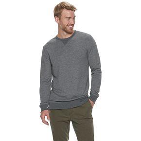 Men's SONOMA Goods for Life? Super Soft Double Knit Crewneck