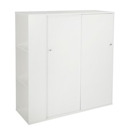 South Shore Crea Kids Storage Cabinet with Sliding Doors