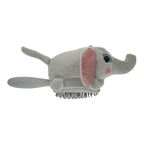 Wet Brush Elephant Plush Brush