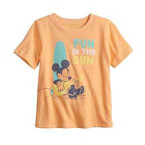"""Disney's Mickey Mouse Baby """"Fun In The Sun"""" Graphic Tee by Jumping Beans®"""